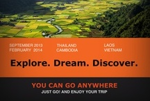 *** Freedom Project *** / I'll be in Asia from september 2013 until february 2014. Planning to explore Thailand, Laos, Cambodia, Vietnam, Myanmar and Malaysia. / by Raphdef