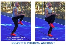 Dolvett's Interval Workout / Skip the gym and try Dolvett's at-home interval workout! Follow the motions step-by-step for an easy routine that can be done anywhere.  / by The Biggest Loser