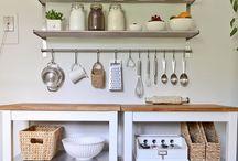 Apt living: kitchen / by Mandi Jordan