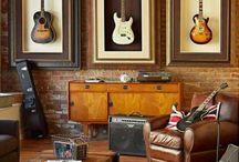 Jon's music room / by Mandi Jordan