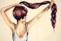 hair / by Hannah Streed