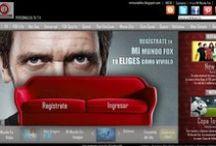 Home pages / Diseños web generados en el espacio académico  de producción hipermedial de la Carrera de Publicidad de la Universidad Central / by Conexión Central