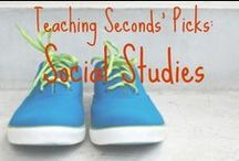 Schoolin' SS (ESL and Gen) / Social Studies for K-5. This board will include push-in and pull out methods for #ESL #ELL and #ESOL as well. / by Elizabeth O'Meara