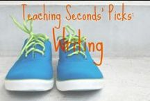 Schoolin' Writing (ESL and Gen) / Writing for K-5. This board will include push-in and pull out methods for #ESL #ELL and #ESOL as well. There will be workshop help, tutoring help, prompts, and grammar reminders (for me...) for all students. / by Elizabeth O'Meara