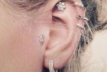 Piercing & jewelry ✨ Bijoux et percing d'oreille / by aux Fils de ma Vie