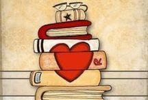 books & 'braries // library&books / by Heather Van Buren