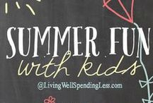 Family-Friendly Summer Bucket List / Activities for families and kids to beat summer boredom. Get more family-friendly summer bucket list ideas: http://blog.ashleypichea.com/tag/summer-bucket-list/ / by Ashley Pichea [Pichea Place]