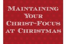 Keeping Christ in Christmas / Ideas, tips, and tutorials for keeping Christ in Christmas: http://blog.ashleypichea.com/tag/keeping-christ-in-christmas/ / by Ashley Pichea [Pichea Place]