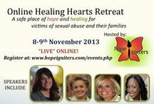 Healing Hearts Retreat / Healing Hearts Retreat has been born out of the passion Bethany Stanko has to reach men and women across the world who have been sexually abused in order to create a safe place of hope and healing for them and their families.  She also has a dream and vision to see trainings and ministry going on in every church in America to victims of sexual abuse or sexual violation.  Register today at: www.hopeigniters.com/events.php Check out Hope Igniters website at: www.hopeigniters.com  / by Bethany Stanko