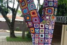 Yarn bombing / by Gina Masello
