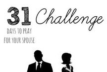 "Pray for Your Spouse / Prayers from the ""31 Days to Pray for Your Spouse"" Challenge. Join us: http://blog.ashleypichea.com/31-pray-for-spouse / by Ashley Pichea [Pichea Place]"