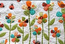 sewing and quilting / by Linda Herron