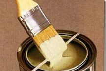 Paint and painting things / by Bobbie Rutherford-Bennett