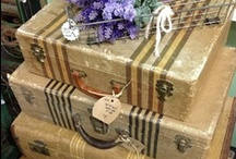 Suitcases & Trunks / by Nancy Lewis