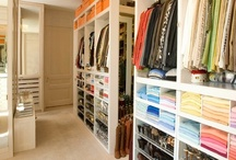 Closets and dressing areas / Closets, dressing rooms, vanity areas / by Julie Williams