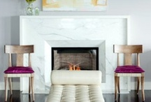 Details-fireplaces / Fireplaces and surrounds / by Julie Williams