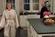 """Kitchens-""""somethings gotta give"""" kitchen / Pictures from the movie Something's gotta Give / by Julie Williams"""