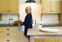 Kitchens-not white / wood kitchens, painted kitchens, etc / by Julie Williams