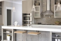 Kitchens-taupes, greys, creams and in between / Greys, taupes, creams..... / by Julie Williams