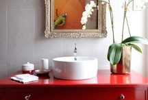 Bathrooms-Powders / a chance to do something special, create a jewel box or ? / by Julie Williams