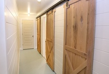 Details-barn doors and other great doors / wonderful doors and details / by Julie Williams