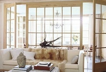 Details-interior window walls / Design details that feature interior windows as walls or room dividers / by Julie Williams