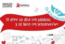 El amor se dice con palabras y se hace con preservativo / by Fundación Huésped - en acción contra el sida