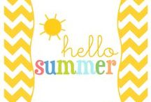 Seasons: Summer / Games & other fun ideas for the whole family to enjoy this summer.  / by Leslie Limon