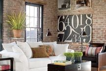 exposed brick / by Becky Strahle