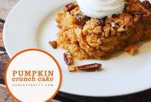 Pumpkin Recipes / by Tessa Curtis