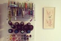 Craft room ideas / None / by Kim Vermeer