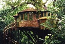 Cottages, tree houses, sheds ,  and other small buildings! / by Mandy Atkins