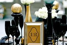 Wedding | Black & Gold / by Taylor Made Soirées