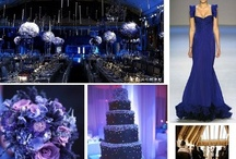 Wedding | Dark Blue / Blue is the colour of inspiration, sincerity and spirituality and makes for a beautiful accent colour at any celebration! There are  many variations of blue, from the violet-blue and indigo, to the dark blue shades of ultramarine, cobalt blue, navy blue and midnight blue. / by Taylor Made Soirées