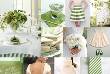 Wedding | Green / Green is life. Abundant in nature, green signifies growth, renewal, health, and environment. Green denotes balance, harmony, and stability. Using several shades of green creates a  clean, fresh, Springtime feel and a sense of happy beginnings. / by Taylor Made Soirées