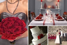 Wedding | Red & Gray/Silver / by Taylor Made Soirées
