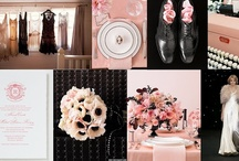 Wedding | Lt. Pink & Black / by Taylor Made Soirées