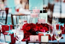 Wedding | Red & Teal/Aqua/Turquoise / by Taylor Made Soirées