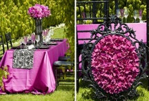 Wedding | Dk. Pink & Black / by Taylor Made Soirées