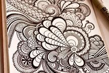 Zentangle & doodles / by Kim Vermeer