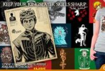 Game of Tees / We are House TeeFury and this is our Game of Tees! Winter is coming so you should probably stock up... Check out all of the designs here: http://www.teefury.com/people/513915/GameOfTees/?&c3ch=Social&c3nid=Pinterest / by TeeFury