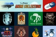 Anime Collection / We are excited to share TeeFury's first Anime Collection, featuring multiple artists and fandoms. We've brought back some of the most popular anime designs.   Check here to see if your past favorite tee is added to the gallery! http://goo.gl/H9vLuh / by TeeFury