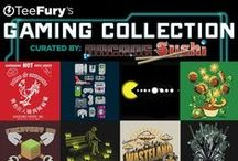 Gaming Collection / This Video Game Collection was curated by the wonderful folks over at arcadesushi.com! These tees are only here until September 22nd. / by TeeFury