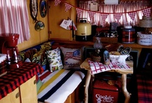 Vintage Glamping / The art of 'Glamorous Camping'; vintage style...  / by Matrixbabe Vintage