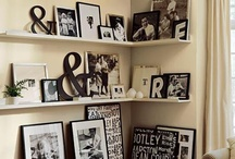 home shelves+walls / by Linda Marie