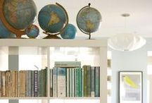 .globes and maps. / Maps and Globes / by Jessie