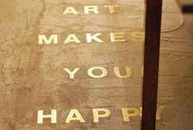 Home is where the ART is / Hoe kun je een schilderij mooi ophangen? Waar kan je die bijzondere vaas neerzetten? Volg dit board voor tips en trucs! / by Kunstuitleen Zwolle