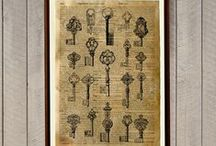 Antique Dictionary prints / by Michail Sapoval