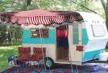 vintage travel trailers / by Erin @ Why Not Sew?