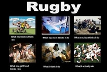 Saturday's a rugby day! / by Kelly Whalen